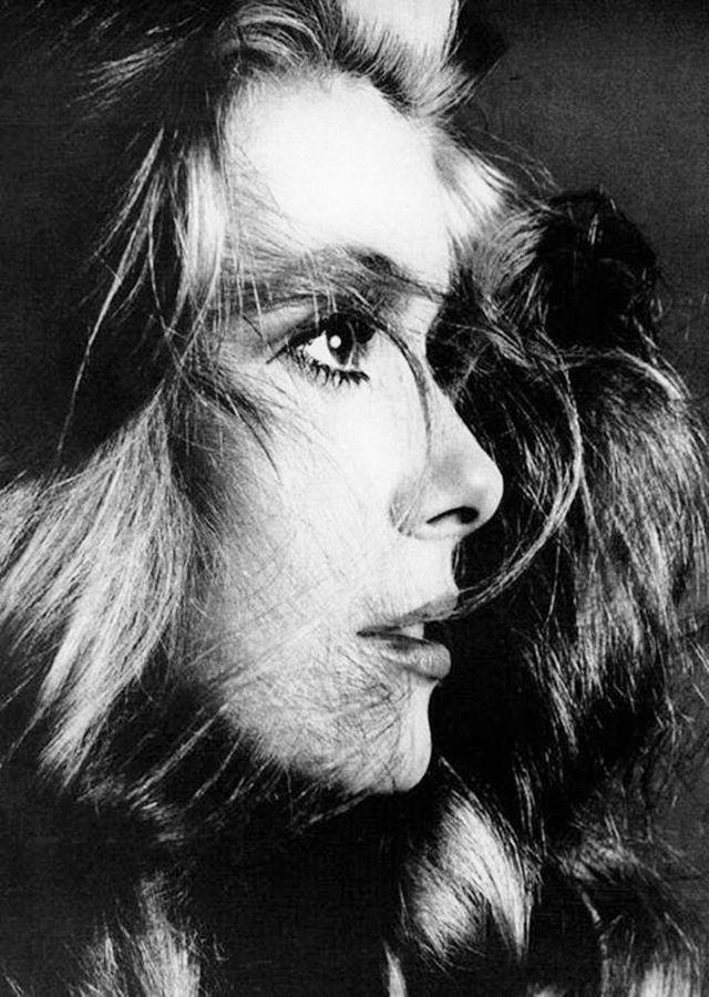 Catherine Deneuve photographed by Richard Avedon.