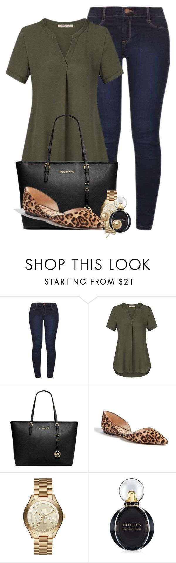 """""""Valley Girls"""" by mikamik on Polyvore featuring Dorothy Perkins, Michael Kors, Sam Edelman, Bulgari and Bling Jewelry"""