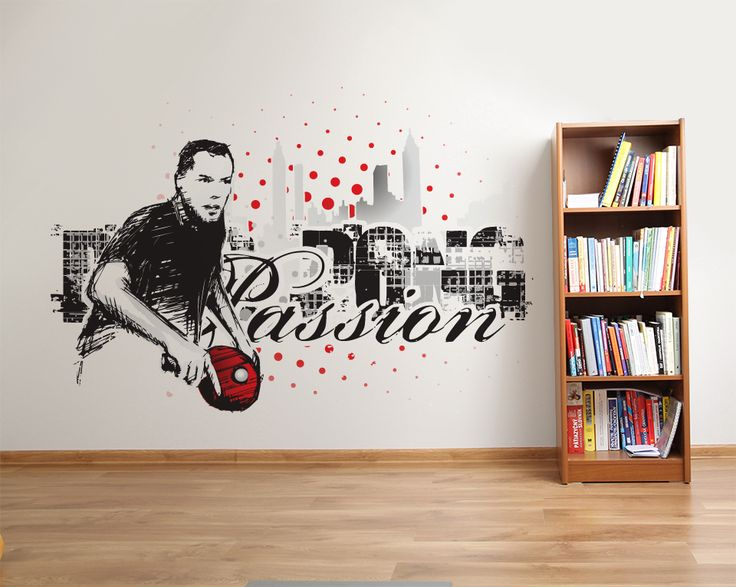 Wallpaper Sticker PING PONG PASSION by Sticky!!!