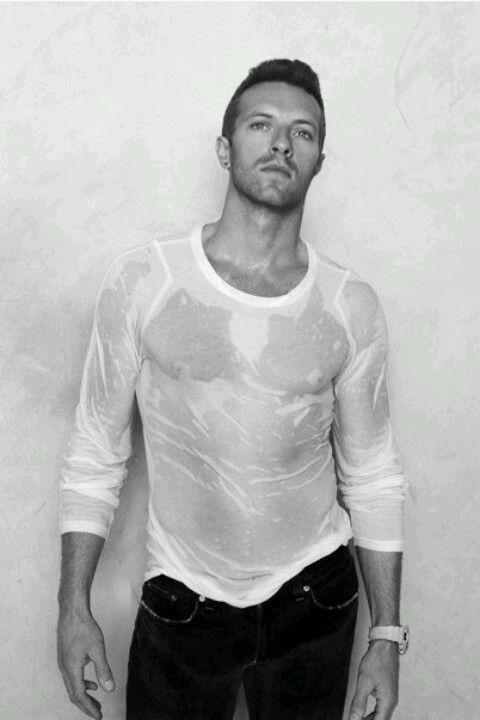 Watching him on the voice and realizing how adorably hot he is. Plus, I love Coldplay. <3
