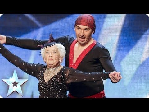Community: Watch This 79-Year-Old's Dreams Come True On The Britain's Got Talent Stage
