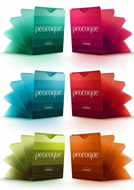 Peacoque - Innovative Condom Packaging (Concept) on Packaging of the World - Creative Package Design Gallery