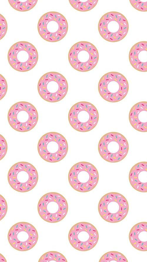 wallpapers art donut miam food manger