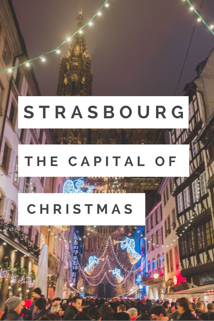 Strasbourg - The Capital of Christmas. Marche de Noel InBetweenPictures.com