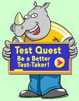 Houghton Mifflin Site gives test prep lessons for lots of math concepts, and this link also takes you to a step by step test taking strategies tutorials and practices