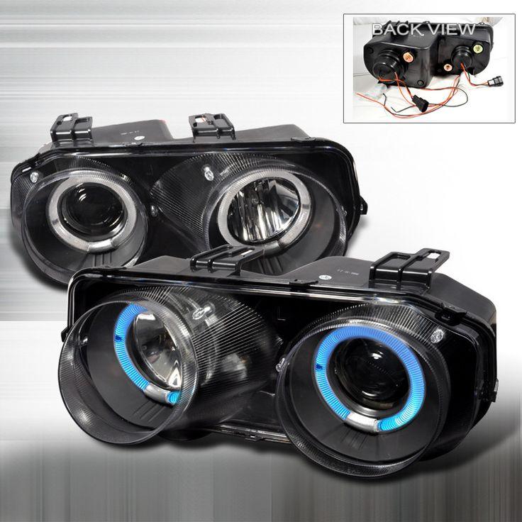 94-97 Acura Integra 2/4 Doors Black Dual Halo Projector