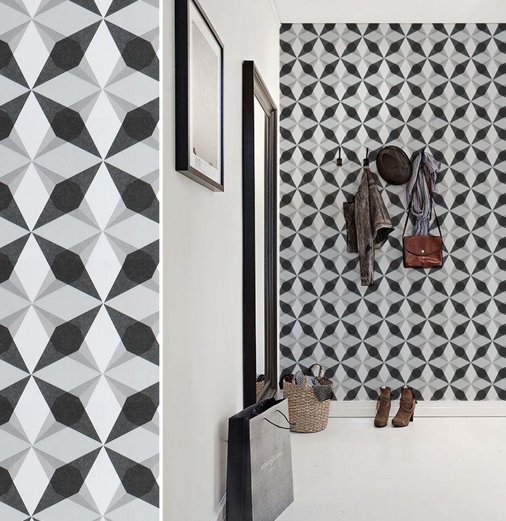 17 meilleures id es propos de papier peint ikea sur pinterest rayonnage peint tag res de. Black Bedroom Furniture Sets. Home Design Ideas