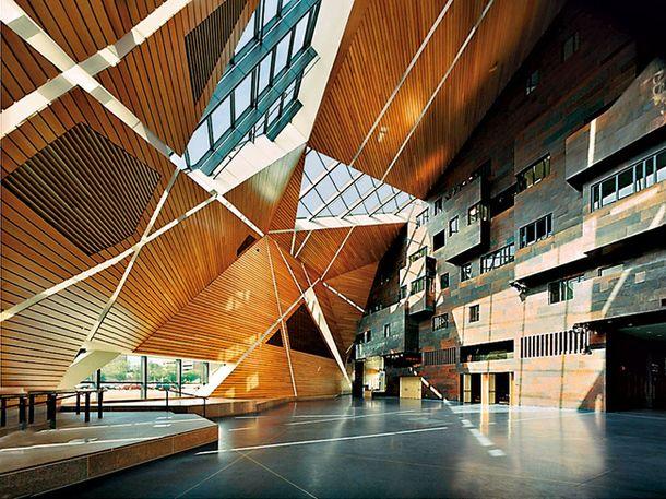 Общественный центр в университете штата Миннесота, арх. Антуан Предок