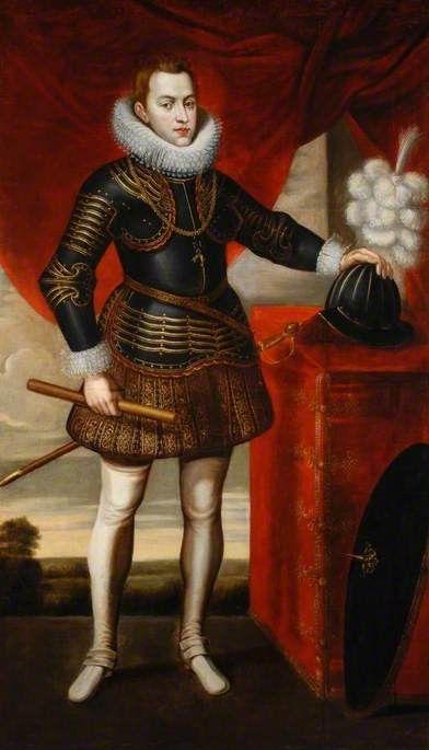 Philip IV of Spain, early 17th century, by Juan Pantoja de la Cruz