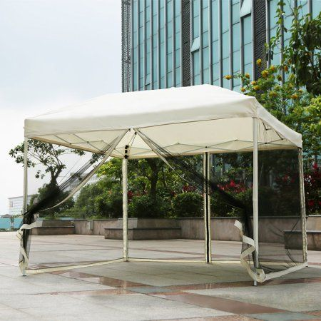 Free Shipping. Buy iKayaa 3*3*2.6M Folding Outdoor Garden Canopy Gazebo Pop Up Party Wedding Camping Tent Marquee Pavilion at Walmart.com