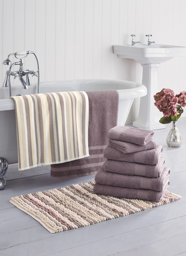 Dusty Pink Bath Collection from Next