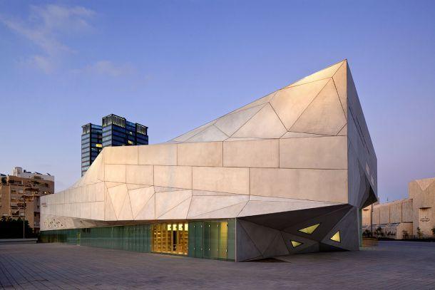 Μουσείο στο Τελ Αβίβ με πτυχωτή όψη Αρχιτεκτονική μελέτη και κατασκευή: Preston Scott Cohen