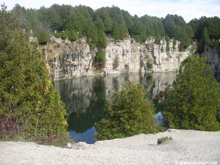 Elora Gorge Quarry, Elora, Ontario, Canada