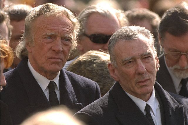 March 1995. Funeral of Ronnie Kray - Corbis