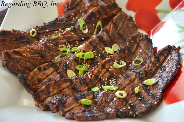 Korean-style beef ribs (Bulgalbi) are delicious. This marinade contributes to a great beef rib flavor and is also the reason that they are so tender.