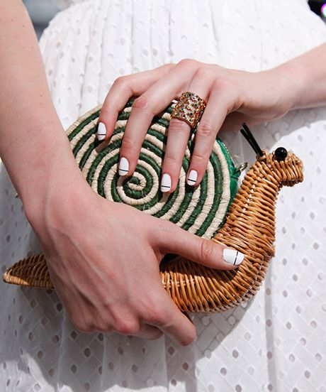 Kate Spade's Creepy-Crawly Clutches Are Freaking Us Out #refinery29 http://www.refinery29.com/2014/09/74055/kate-spade-spring-2015