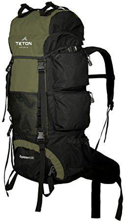 TETON Sports Explorer 4000 Internal Frame Backpack  Hunter Green. Hunting 87d1fa77380b9