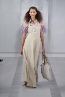 Dungaree, maxi dress with embellished, double sleeve shirt and handmade tote from my graduate range