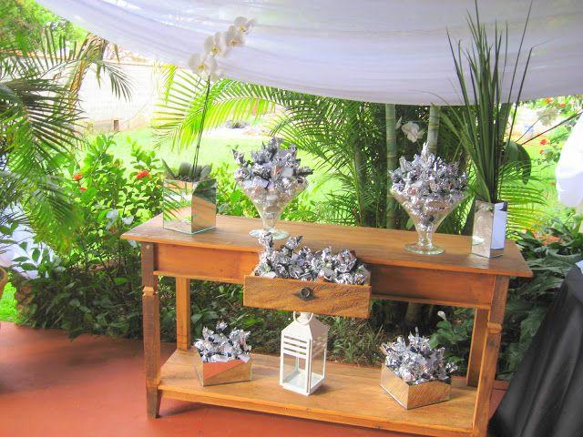 decoração para bodas de prata em sitio - Pesquisa Google