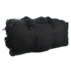 MIL-TEC® Taška / batoh na kolečkách ČERNÁ