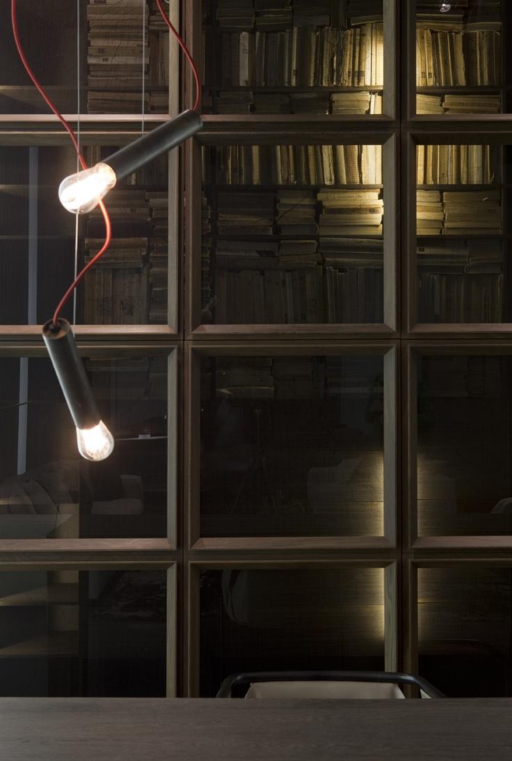 Pipe 3 led suspension lamp decor walther ambientedirect com - Pipe Light S Collection 2012 Design Massimo Castagna Henge Design Www