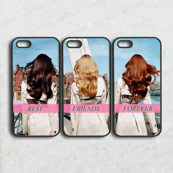 For me Sarah and holly   Click our shop www.etsy.com/shop/bff1828 to check more styles case.    ===This is set of 3 case,You can have mixed and match cases like 1 case for iphone