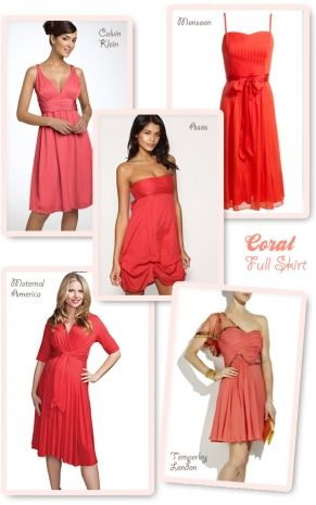 Coral Dress For Wedding Guest