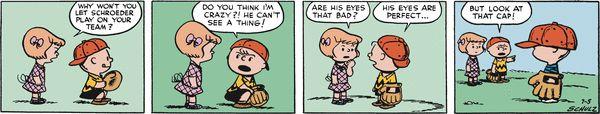 Peanuts Begins Comic Strip, October 08, 2016     on GoComics.com