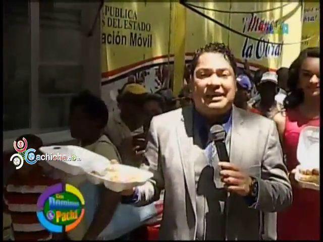 Los Comedores Económicos De Con @DomingoyPacha @ElPachaOficial @Ramses Paul #Video