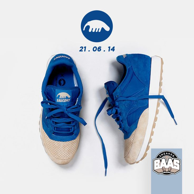 """Saucony Jazz Original x Anteater """"Sand & Sea""""   This saturday, keep in touch with the facebook for more information!   www.sneakerbaas.nl   #ANTEATER #SAUCONY #BAASBOVENBAAS #SNEAKERBAAS"""