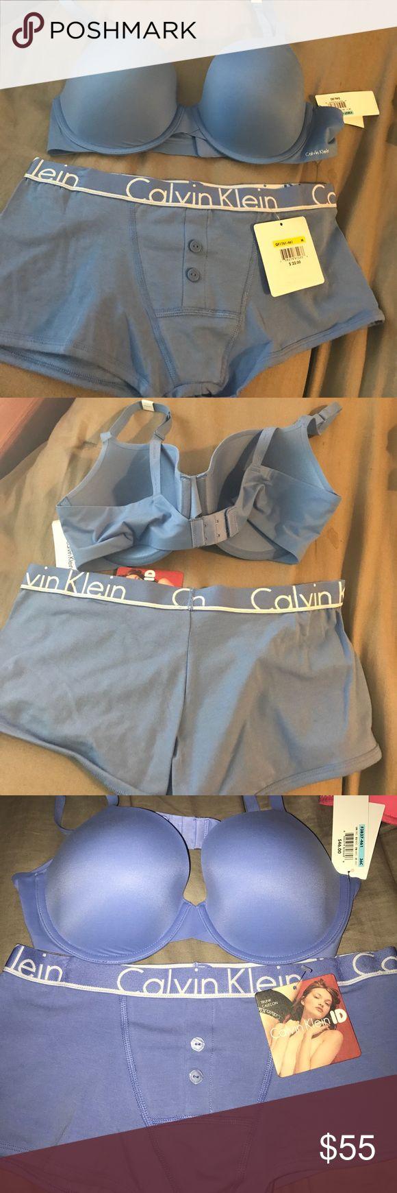 WOMENS CALVIN KLEIN BUNDLE WOMENS CALVIN KLEIN BUNDLE.    •New.              •Bra: 36C.   •Trunk: M Calvin Klein Other