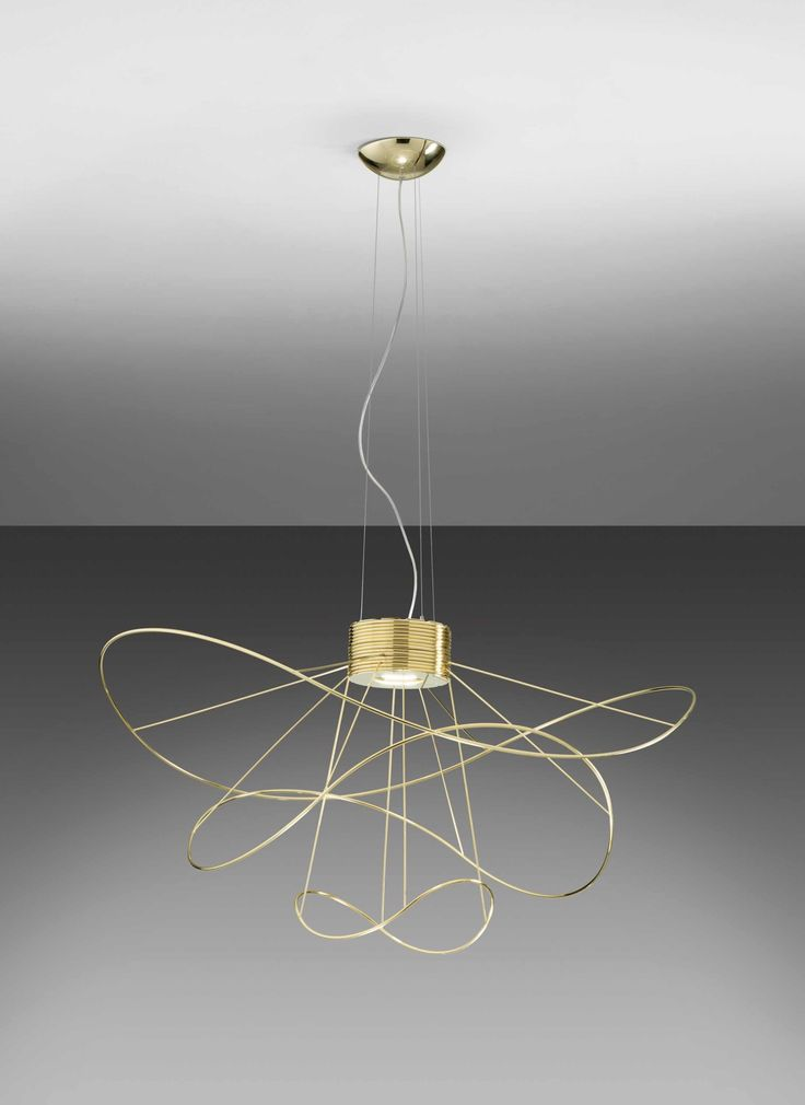 Hoops Is The New Collection Designed By Giovanni Barbato For Axo Light Comprise Hanging Lamps And Ceiling With Interchangeable Elements In Three