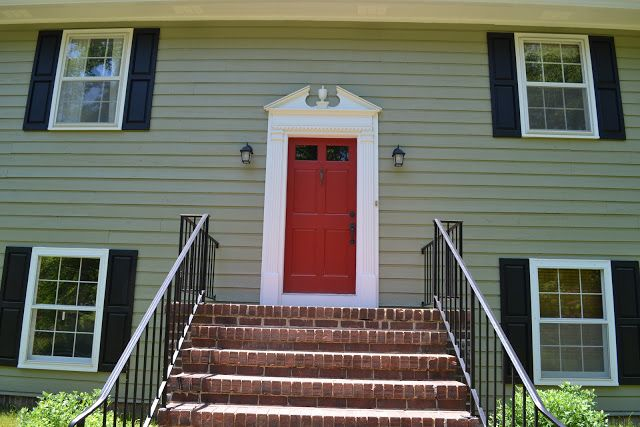 Sw 7748 Green Earth House Red Brick House Paint Colors