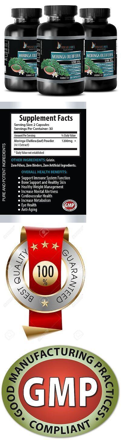 Appetite Control Suppressants: Antioxidant Supplement Capsule - Moringa Oleifera 1200 - Wound Healing - 3B -> BUY IT NOW ONLY: $31.95 on eBay!