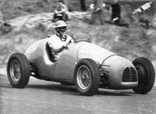 #20 Harry Schell (Usa) - Gordini T16 (Gordini 6) transmission (10) Equipe Gordini