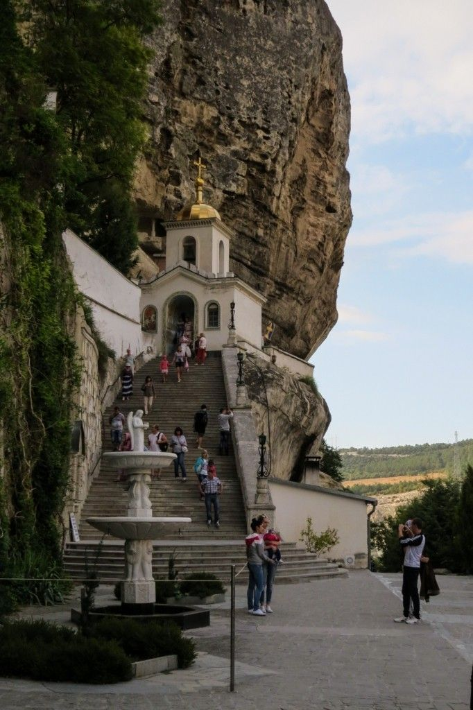 Успенский пещерный монастырь, Бахчисарай, Крым