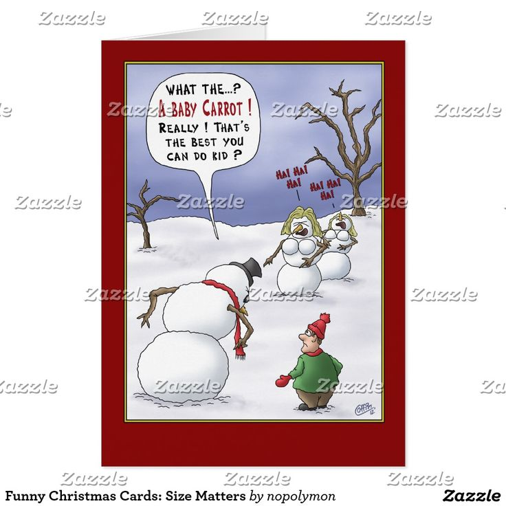 70 best funny christmas holidays greetings cards images on pinterest funny christmas cards size matters m4hsunfo Choice Image