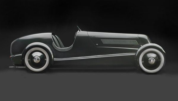 1934 Edsel Ford's Model 40 Speedster, Courtesy of the Edsel and Eleanor Ford House Photo 14 of 15 in Examining the Architecture of the Art Deco...