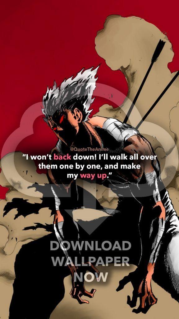 7 Powerful Garou Quotes One Punch Man Hq Images Qta One Punch Man One Punch Man Manga One Punch Man Anime Garou one punch man wallpaper