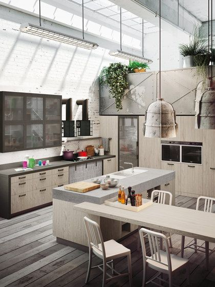 Snaidero LOFT Kitchen Designu0027s Strong Personality Is A Showstopper. The  Modern Kitchen Packages Efficiency,