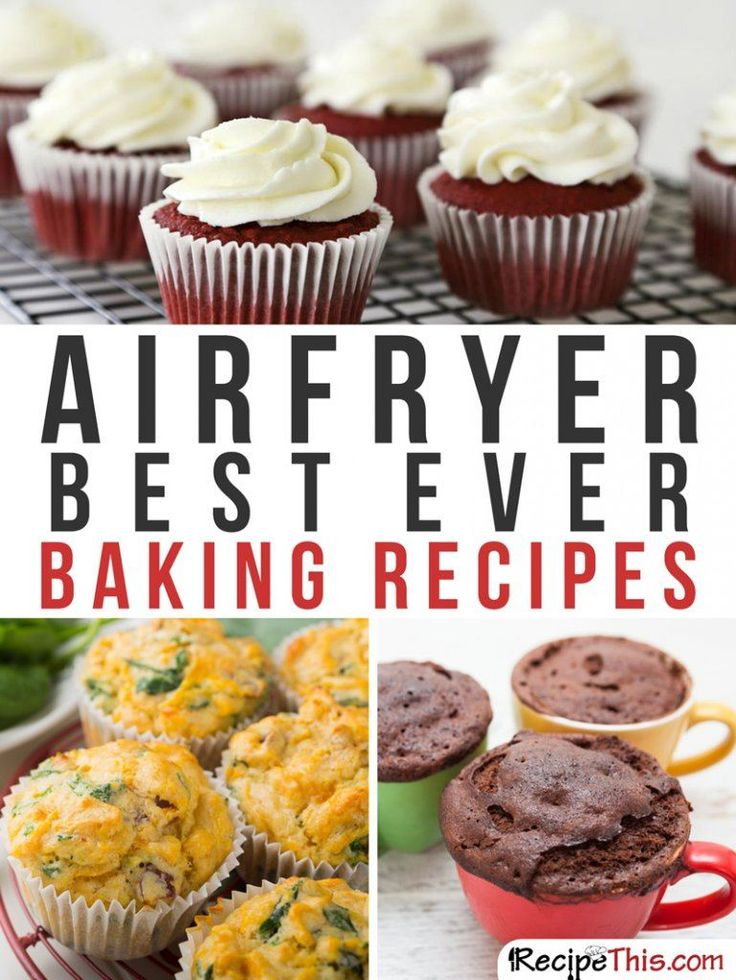 Airfryer Recipes | Baking Philips Airfryer Recipes For The Complete Beginner from RecipeThis.com