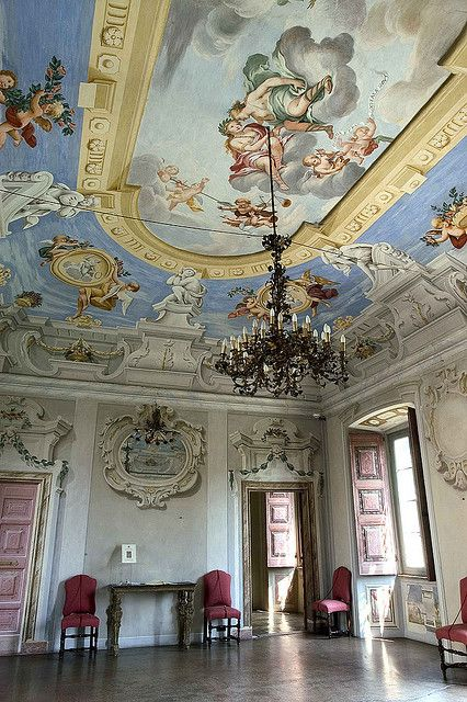 452 best ceilings images on pinterest for Italian baroque architecture