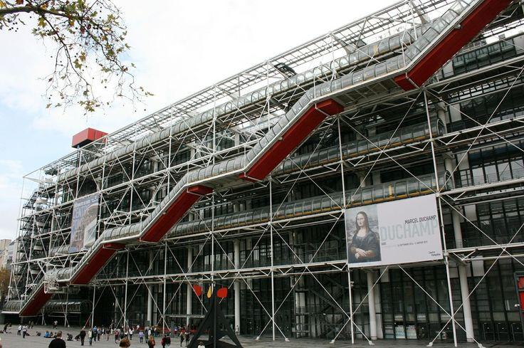 Centro Pompidou receberá renovação de US$ 110 milhões em seu 40° aniversário