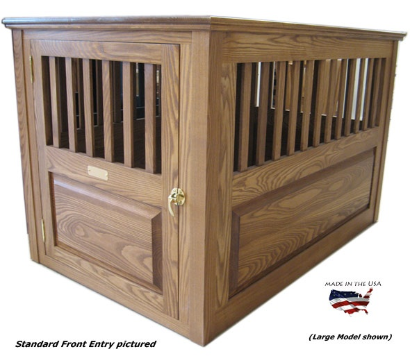 27 Best Images About Wooden Dog Crates On Pinterest