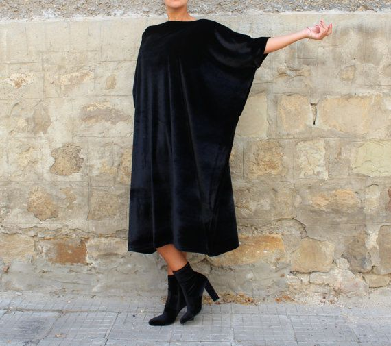 Party Dress / Velvet Dress / Plus Size by cherryblossomsdress