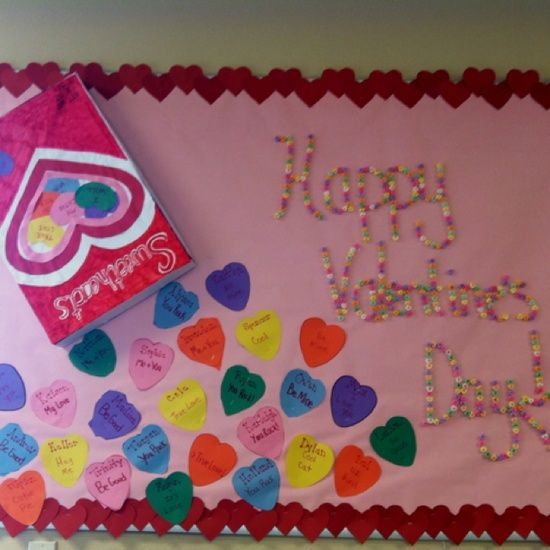 Sweethearts Bulletin Board Idea For Valentine's Day