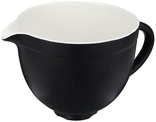 Kitchenaid 5KSMCB5BM Keramikschüssel, schwarz - http://geschirrkaufen.online/kitchenaid/schwarz-kitchenaid-ksmcb5rp-schuessel-keramik-6
