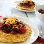 chili-and-cornbread-pancakes