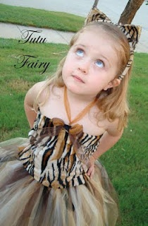 Tiger tutu, Bows Sew Bella will be makeing this
