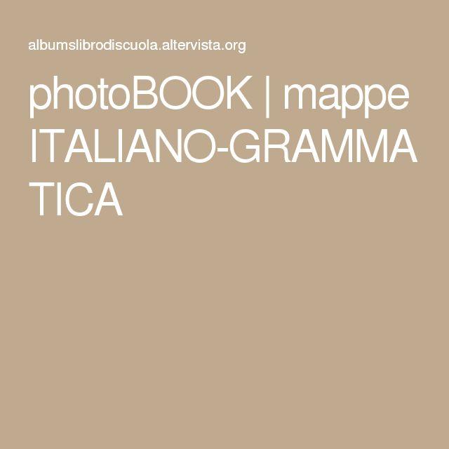 photoBOOK | mappe ITALIANO-GRAMMATICA